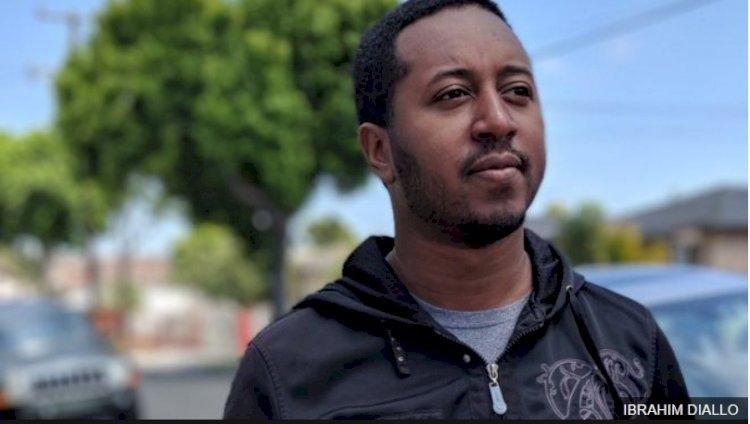 Makine Tarafından İşinden Atılan Adam, Ibrahim Diallo